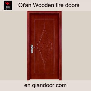 Sapelli Veneer Wooden Room Door pictures & photos