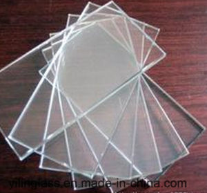 3mm 4mm Low Iron Tempered Figured Glass pictures & photos