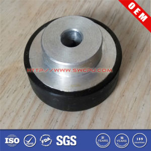 Hard Wearing NBR Rubber Caster Wheel with Hub pictures & photos