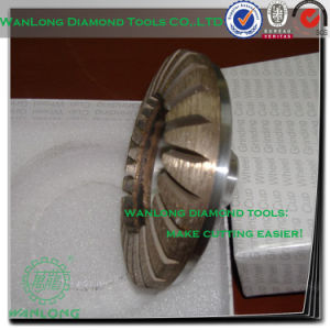 "6"" Diamond Cup Grinding Wheel for Stone Processing, Stone Edge Grinding Tools pictures & photos"