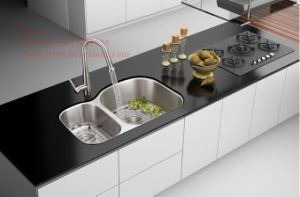 20-1/2X31-1/2 Inch Stainless Steel Under Mount Double Bowl Kitchen Sink pictures & photos