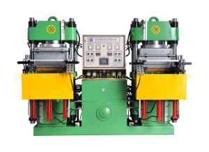 Vacuum Pump Rubber Heating Press Machine for Rubber Seals Made in China pictures & photos