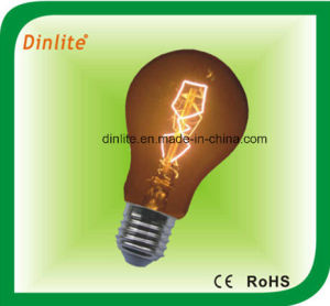 A19-40W E27 golden incandescent bulb pictures & photos
