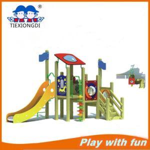 Wood-Plastic Children Outdoor Amusement Playground Equipment pictures & photos