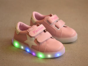 Back to School Kids LED Shoe with New Material