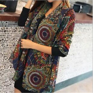 Stock New Fashion Long Style Lady Chiffon Scarf Scarves pictures & photos