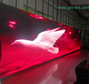 Indoor Outdoor Transparent Screen Display Curtain of P12.5 Mesh/Strip pictures & photos