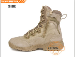 Military Boots of Cowhide Full Grain Leather/Suitable for Any Time pictures & photos