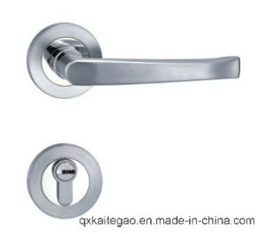 (SD-019) Stainless Steel Satin Finish Separate Level Handle with Lock pictures & photos