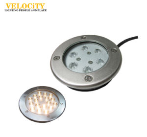Anti-Corrosion Stainless Steel LED IP68 RGB Swimming Pool Underwater Light