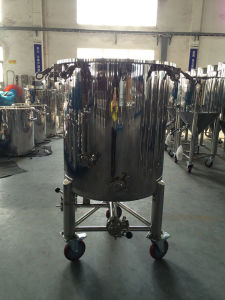 Stainless Steel Wheeled Flanged Tank pictures & photos