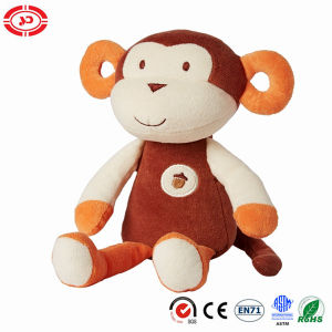 Brown Monkey Fancy Sitting Baby Gift Plush Natural Soft Toy pictures & photos