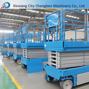 6m to 14m Electric Hydraulic Scissor Lift with Ce Certificate pictures & photos