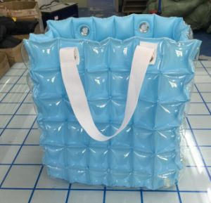 Chinese Supplier Green High Quality Air Bubble Inflatable Beach Bags pictures & photos