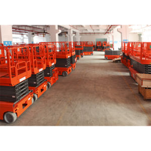 2016 High Performance Automatic Self-Propelled Scissor Lift for Wholesale