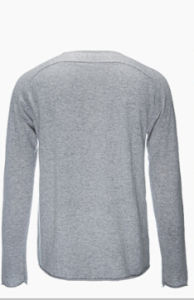 Men′s Round Neck Long Sleeve 100% Top Grade Pure Cashmere Sweater pictures & photos