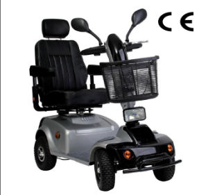 "11"" Electric 4-Wheel Mobility Scooter pictures & photos"