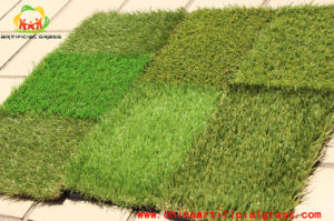 PE Material Outdoor Rooftop Artificial Grass