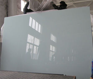 China 3mm-6mm Double Coated Ultra White Black Painted Glass Sheet Supplier pictures & photos