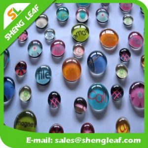 Wholesale Fridge Magnet Custom Different Shape Crystal Glass Fridge Magnet pictures & photos