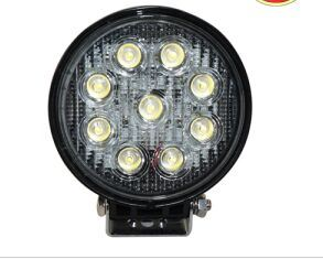 Auto LED Work Light for off Road Car 27W with Spot or Flood Beam