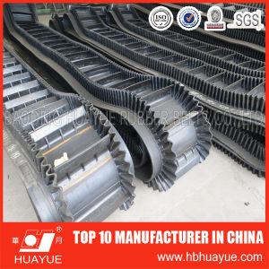 Nylon Rubber Endless Flat Belt/Sidewall Conveyor Belt pictures & photos