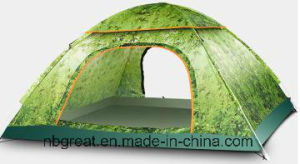 Traveling and Hiking 3-4 Person Lightweight Outdoor Family Camping Tent pictures & photos