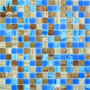 Mix Color Glass Mosaic Tile Crystal Mosaic (MC504) pictures & photos