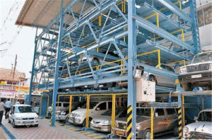 Lifting and Sliding Car Parking Automatic Garage