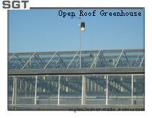 4mm Low Iron Tempered Extra Clear Glass for Open Roof Greenhouse (sides, gable) pictures & photos