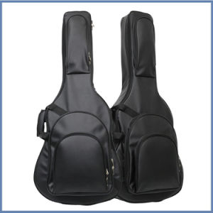 Thicker Leather Padded Guitar Bag pictures & photos