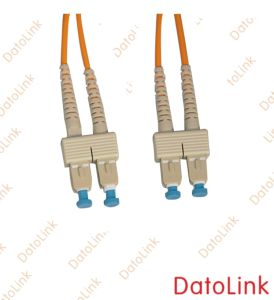Sc-Sc mm Dx Fiber Optic Patch Cord pictures & photos