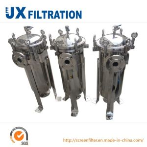 Stainless Steel Industrial Liquid Bag Filter Housing pictures & photos