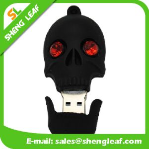Gifts 3D Rubber Customized PVC USB Flash Drives (SLF-RU028) pictures & photos
