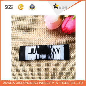 Polyester Printed Logo Garment Tag Printing Clothing Woven Sticker Label pictures & photos