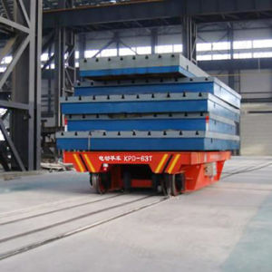 AC Motor Driven Cable Reel Powered Electric Railroad Car for Steel Indutry pictures & photos