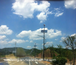 1000W Wind Turbine Generator and Solar Cell for Street Light pictures & photos