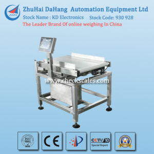 Wide Range Conveyor Belt Checkweigher Scale pictures & photos