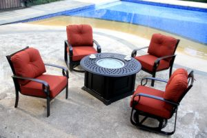 Popular Fire Pit Set Outdoor Furniture pictures & photos