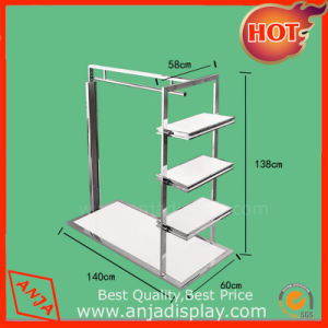 Shop Stainless Steel Display Rack for Clothes pictures & photos