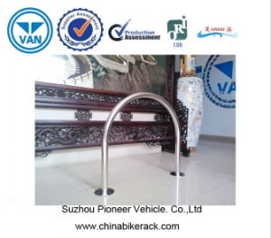 Stainless Steel U Bicycle Rack pictures & photos