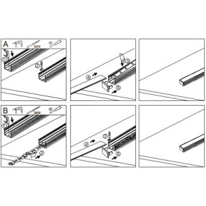 LED Strip Aluminium Profile pictures & photos