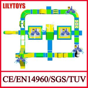 Lilytoys Newest Inflatable Beach Water Park Floating Water Park for Sea (Lilytoys-WP39)