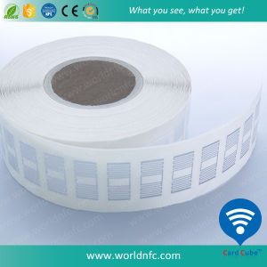 ISO18000-6c UHF Alien H3 RFID Label/Sticker with Adhesive in Roll pictures & photos