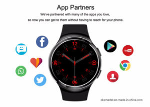 Newest Orginal X3 Plus Android 5.1 Smart Watch Mtk6580 Quad Core 1GB+8GB Heart Rate Smart Watch Clock for Ios and Android pictures & photos
