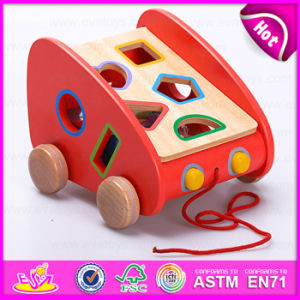 2015 Brand New Multifunction Wooden Block Toy Set, Wooden Block Pull Toy Set, Wooden Pull Block Toy for Children W12D036 pictures & photos