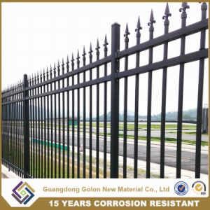 Galvanized Ornamental Metal Garden Fence pictures & photos