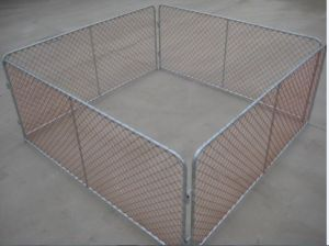 Galvanized Chain Link Fence, PVC Coated Chain Link Fence pictures & photos