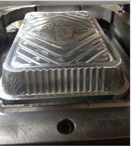 Trays and Dishes, Aluminium Contaner Making Machine pictures & photos