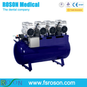 Oil Free Dental Air Compressor with 140L / Dental Compressor